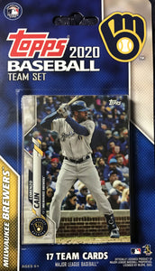 Milwaukee Brewers 2020 Topps Factory Sealed 17 Card Team Set