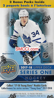 2017 2018 Upper Deck Series 1  Hockey 20 BOX BLASTER CASE