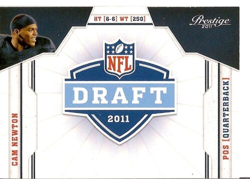 Cam Newton 2011 Prestige NFL Draft Series Mint Rookie Card #5