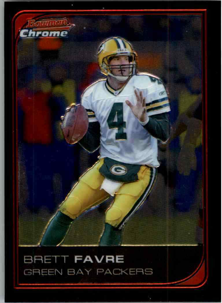 Brett Favre 2006 Bowman Chrome Series Mint Card #163