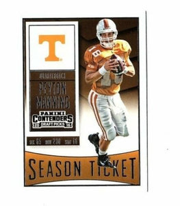 Peyton Manning 2016 Panini Contenders Season Ticket Series Mint Card #81