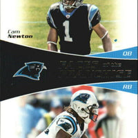 Cam Newton 2011 Topps Faces of the Franchise Series Mint Rookie Card #FF-NW with DeAngelo Williams