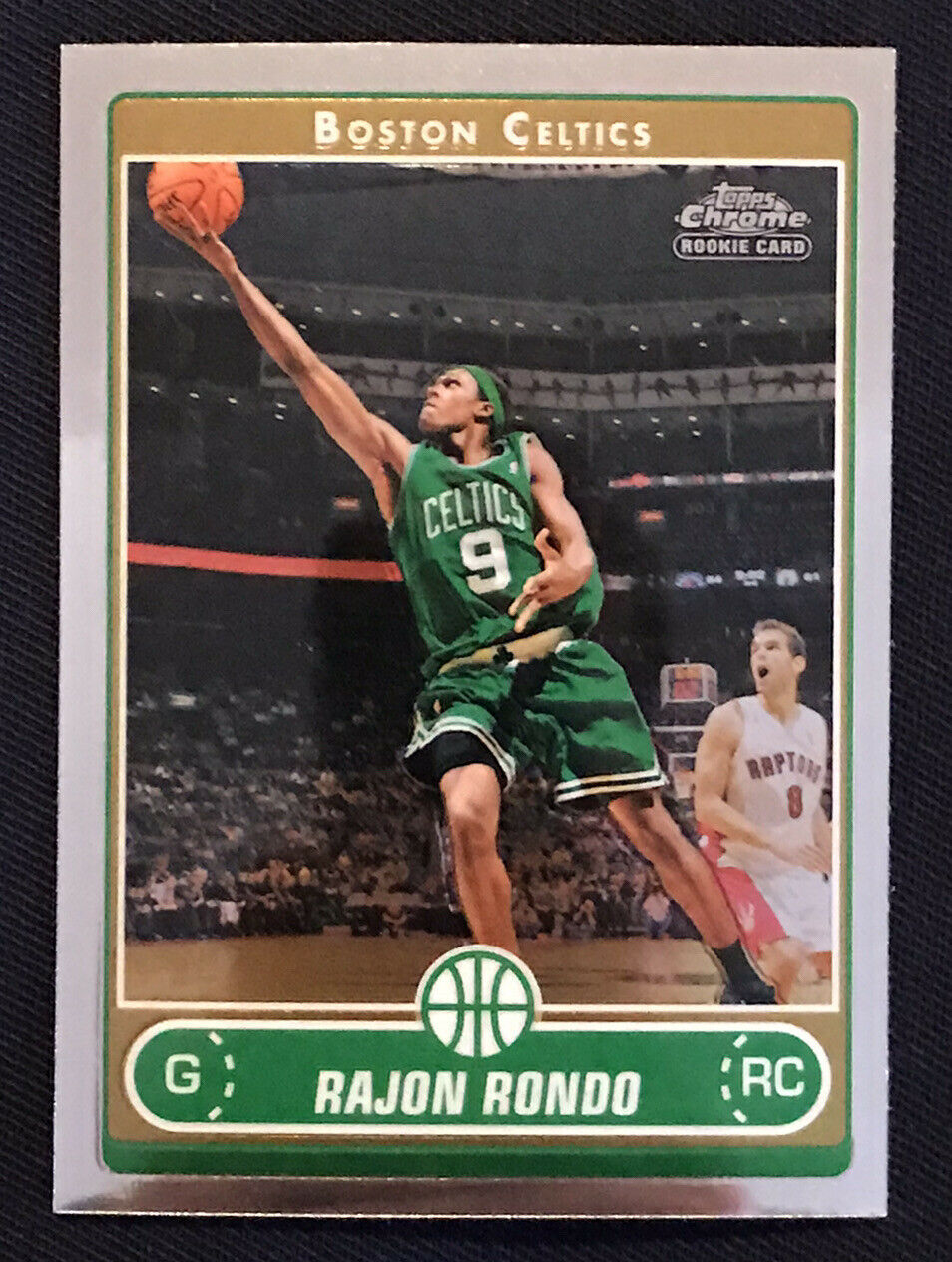 Rajon Rondo 2006 2007 Topps Chrome Series Mint Rookie Card #201