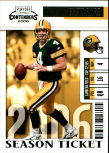 Brett Favre 2006 Playoff Contenders Season Ticket Series Mint Card #34