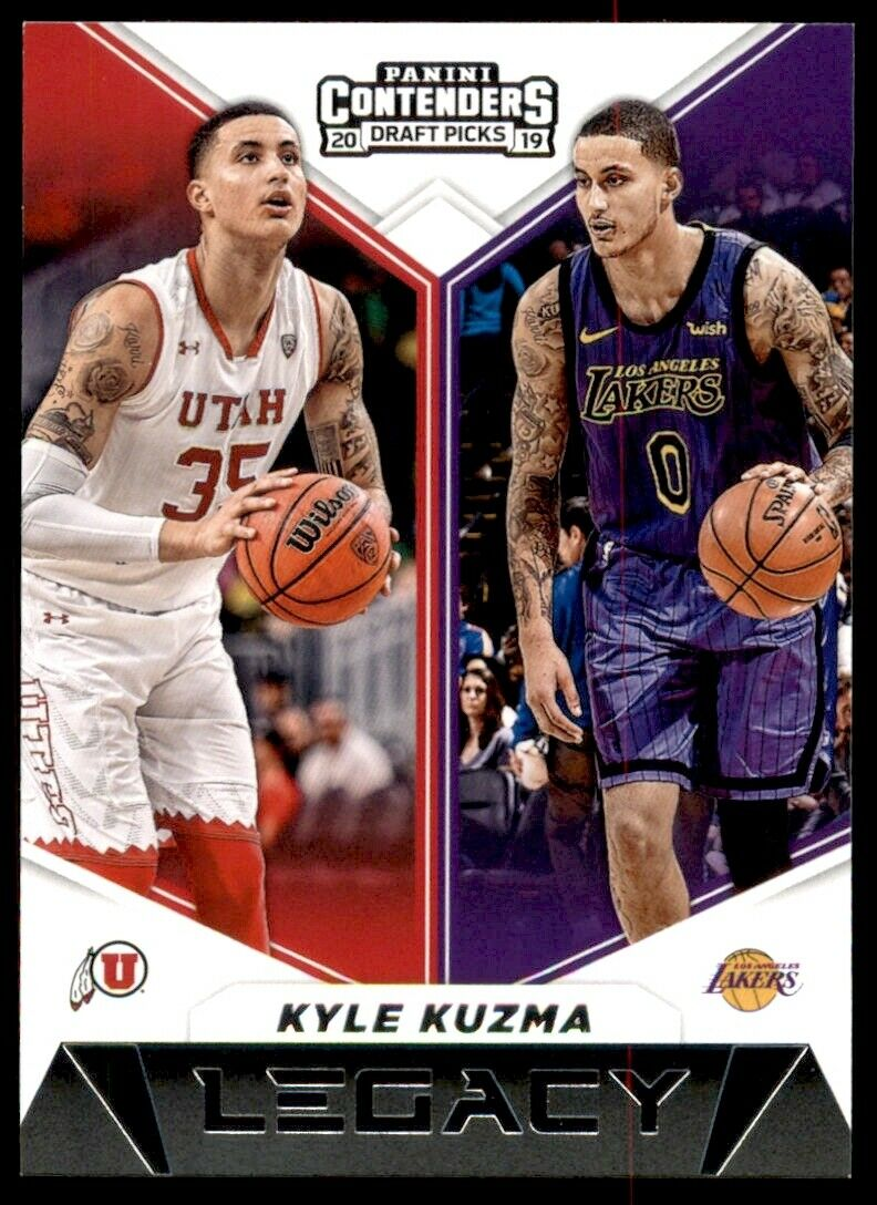 Kyle Kuzma 2019 2020 Panini Contenders Draft Picks Legacy Series Mint Card #27
