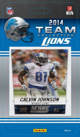 Detroit Lions  2014 Score Factory Sealed Team Set