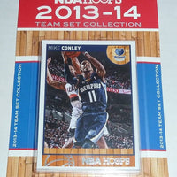 Memphis Grizzlies  2013 2014 Hoops Factory Sealed Team Set