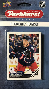 Columbus Blue Jackets 2018 2019 Upper Deck PARKHURST Factory Sealed Team Set