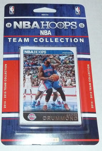 Detroit Pistons 2014 2015 Hoops Factory Sealed Team Set