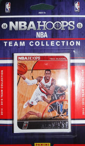 Portland Trail Blazers  2014 2015 Hoops Factory Sealed Team Set