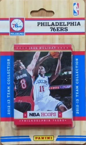 Philadelphia 76ers 2012 2013 Hoops Factory Sealed Team Set