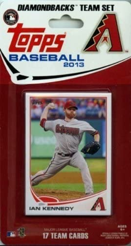 Arizona Diamondbacks 2013 Topps Factory Sealed 17 Card Team Set