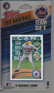 New York Mets  2011 Topps Factory Sealed 17 Card Team Set