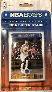 Hoops 2017 2018 NBA Super Star Collection Factory Sealed Team Set