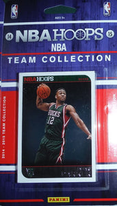 Milwaukee Bucks 2014 2015 Hoops Factory Sealed Team Set featuring Giannis Antetokounmpo 2nd year card