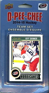 Carolina Hurricanes 2014 2015 O Pee Chee  Factory Sealed Team Set