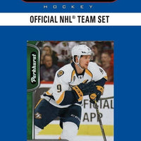 Nashville Predators  2016 / 2017 Upper Deck PARKHURST Factory Sealed Team Set
