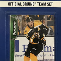Boston Bruins 2016 / 2017 Upper Deck PARKHURST  Factory Sealed Team Set