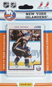 New York Islanders  2012 / 2013 Score Factory Sealed Team Set