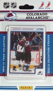 Colorado Avalanche 2012 / 2013 Score Factory Sealed Team Set