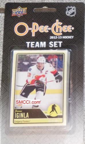 Calgary Flames 2012 / 2013 O Pee Chee  Factory Sealed Team Set