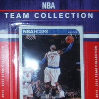 New York Knicks   2014 2015 Hoops Factory Sealed Team Set