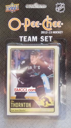 San Jose Sharks 2012 / 2013 O Pee Chee Factory Sealed Team Set