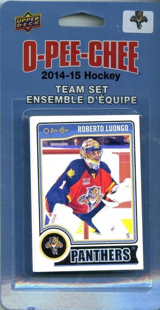 Florida Panthers 2014 / 2015 O Pee Chee  Factory Sealed Team Set