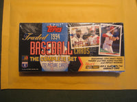 1994 Topps Traded Baseball Series Factory Sealed Set with Bonus Finest Insert Cards