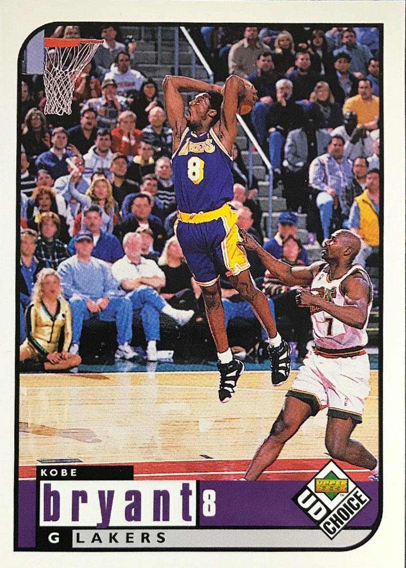 Kobe Bryant 1998 1999 Upper Deck Choice Basketball Series Mint 3rd Year Card #69