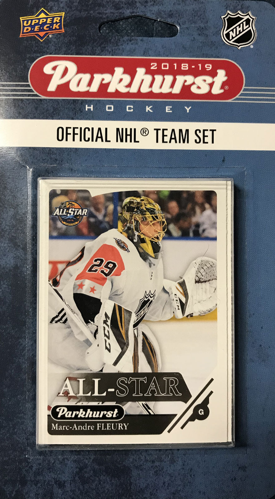 Western Division Official All-Star Series 2018 2019 Upper Deck PARKHURST Factory Sealed Team Set