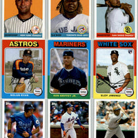 2019 Topps Archives Baseball Series Complete Mint 300 Card Set