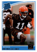 Antonio Callaway 2018 Donruss RATED ROOKIE Mint Card #341