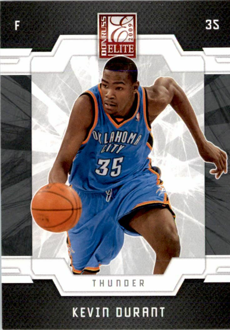 Kevin Durant 2009 2010 Donruss Elite Basketball Series Mint Card #81