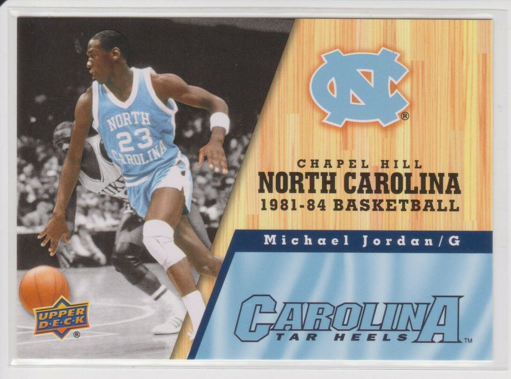 Michael Jordan 2011 Upper Deck North Carolina Basketball Series Mint Card #43