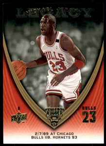 Michael Jordan 2008-09 Upper Deck Legacy Collection Basketball Series Mint Card #309