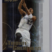 Michael Jordan 2003-04 Upper Deck MVP A Tribute to Greatness Basketball Series Mint Card #MJ4