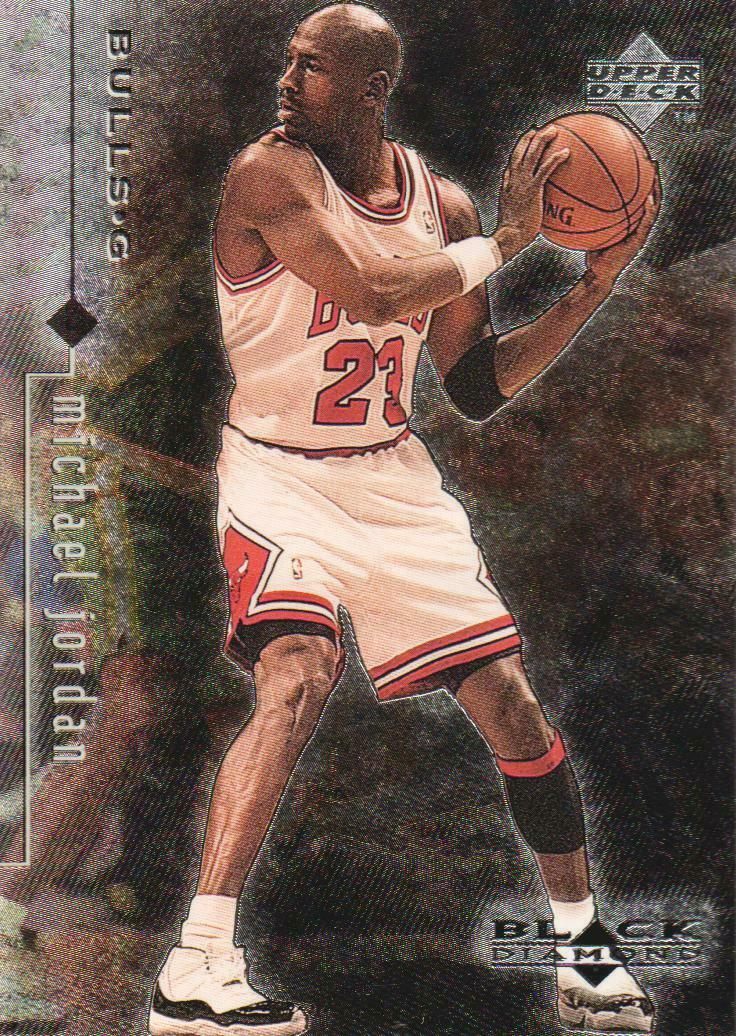 Michael Jordan 1998-99 Upper Deck Black Diamond Basketball Series Mint Card #10