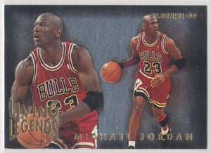 Michael Jordan 1993-94 Fleer Living Legends Basketball Series Mint Card #4