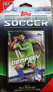 Seattle Sounders FC 2016 Topps Factory Sealed Team Set