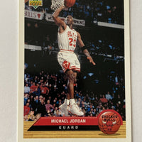 Michael Jordan 1992-1993 Upper Deck McDonald's Promo Insert Basketball Series Mint Card #P5
