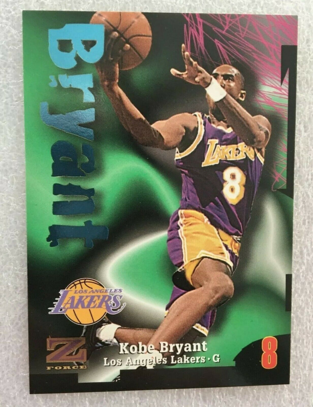 Kobe Bryant 1997 1998 Skybox Z-Force Basketball Series Mint Card #88