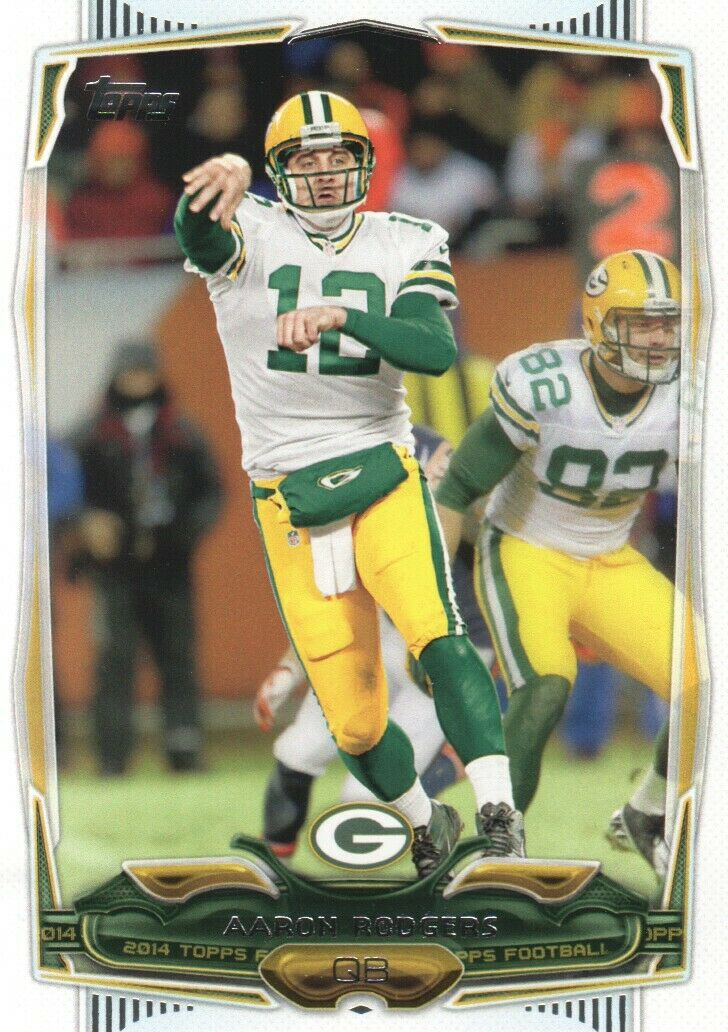 Aaron Rodgers 2014 Topps Mint Card #172