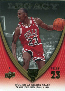 Michael Jordan 2008-09 Upper Deck Legacy Collection Basketball Series Mint Card #283