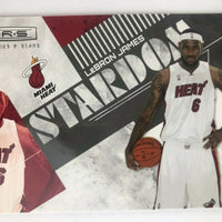 LeBron James 2010-11 Rookies and Stars Stardom Basketball Series Mint Card #2