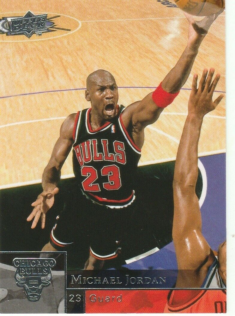 Michael Jordan 2009-10 Upper Deck Basketball Series Mint Card #23