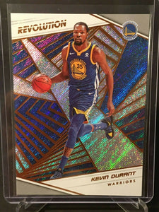 Kevin Durant 2018 2019 Panini Revolution Basketball Series Mint Card #18