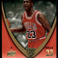 Michael Jordan 2008-09 Upper Deck Legacy Collection Basketball Series Mint Card #127