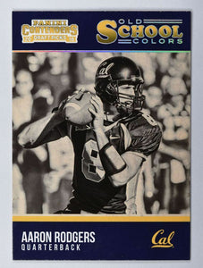 Aaron Rodgers 2016 Panini Contenders Old School Colors Mint Card #2
