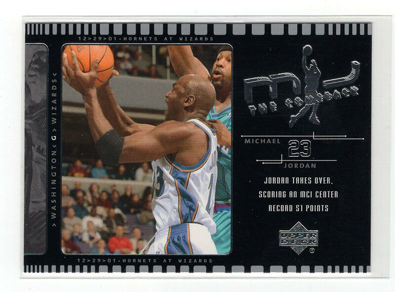 Michael Jordan 2002-03 Upper Deck MJ the Comeback Basketball Series Mint Card #J3